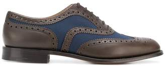 Church's panelled brogues