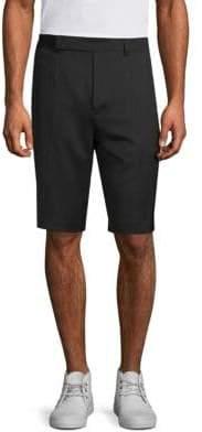 Helmut Lang Wool Flat Front Shorts