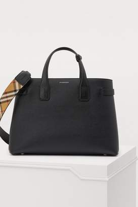 Burberry Full-grain calfskin handbag
