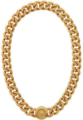Versace Gold Chunky Medusa Chain