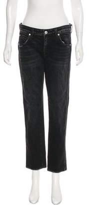Amo Kate Mid-Rise Straight-Leg Jeans