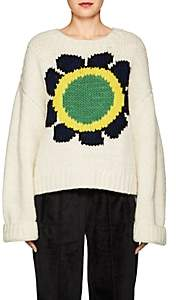 Opening Ceremony Women's Floral Intarsia-Knit Sweater-Ivorybone