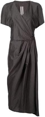 Rick Owens short sleeved limo dress