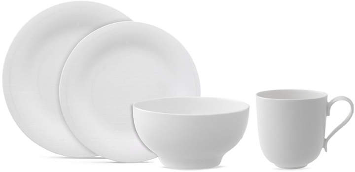 Villeroy & Boch Dinnerware, New Cottage Round 4 Piece Place Setting