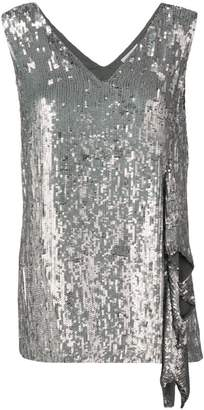 7f02d5a0879 P.A.R.O.S.H. sequinned asymmetric top
