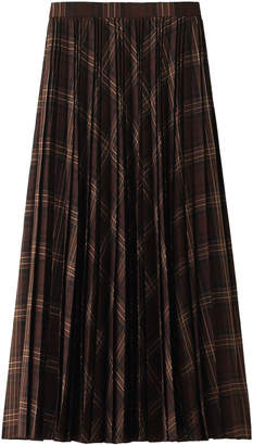 Heliopole (エリオポール) - エリオポール YUNSA チェックロングプリーツスカート