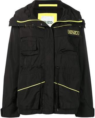 Kenzo logo windbreaker jacket