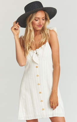 Show Me Your Mumu Ridgley Mini Dress ~ Red White and Ticking Stripe