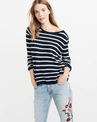 Abercrombie & Fitch Cashmere Boatneck Sweater