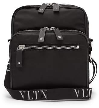 Valentino Vltn Cross Body Bag - Mens - Black