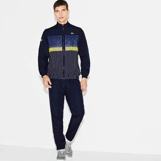 Lacoste Men's SPORT Tennis Striped Brand Design Tracksuit
