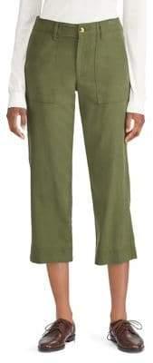 Lauren Ralph Lauren Straight-Fit Mid-Rise Pants