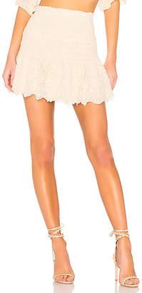 LoveShackFancy Milla Skirt