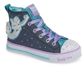 Skechers Twinkle Lite Glitter Sneaker