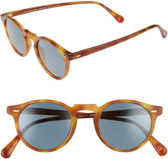 2ea781ac08 ... Oliver Peoples Gregory Peck 47mm Round Sunglasses