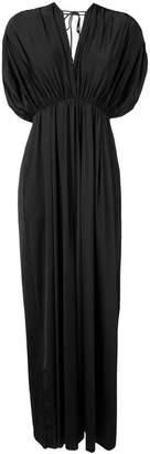 Fisico V-neck maxi dress