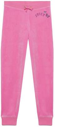 Juicy Couture Juicy Butterfly Velour Zuma Pant for Girls