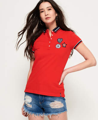 Superdry Pacific Badge Polo Shirt