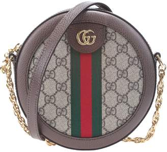 Gucci mini round bag, Ophidia line,
