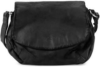 Liebeskind Berlin Women's Debossed Logo Leather Saddle Bag