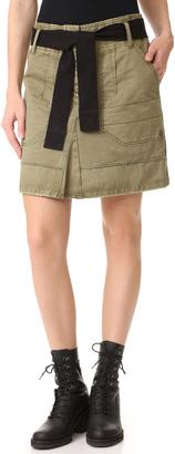 Zadig & Voltaire Jewel Grunge Skirt $198 thestylecure.com