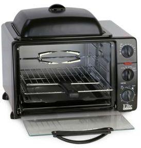 Maxi Matic Elite Platinum 8-Multifunction Countertop Toaster Oven Broiler