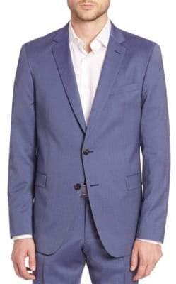 Saks Fifth Avenue Pinstriped Wool-Blend Sportcoat