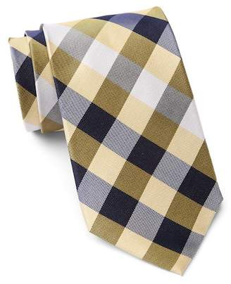 Tommy Hilfiger Silk Multi Sized Gingham XL Tie