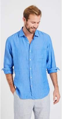 J.Mclaughlin Gramercy Regular Fit Linen Shirt