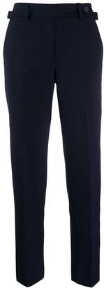 RED Valentino RED(V) side buckle cropped trousers