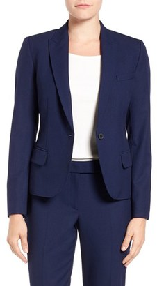 Women's Anne Klein One-Button Suit Jacket $119 thestylecure.com