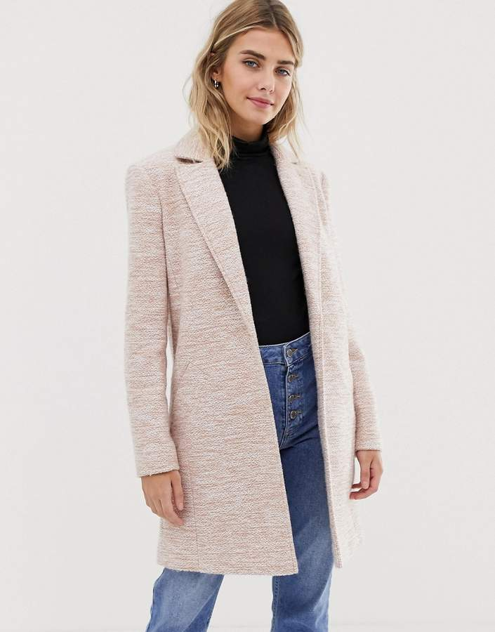 Asos Design ASOS DESIGN textured slim coat