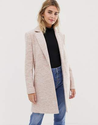 Asos Design DESIGN textured slim coat