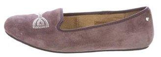 UGG Australia Suede Embellished Loafers $60 thestylecure.com