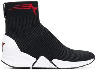 Ash ankle sock sneakers