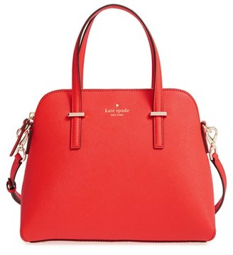 Kate Spade New York 'Cedar Street - Maise' Leather Satchel - Brown $298 thestylecure.com