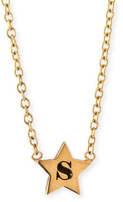 Chicco Zoe Personalized Initial Star Pendant Necklace