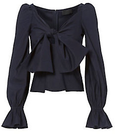 Exclusive for Intermix Maya Bow Front Top $250 thestylecure.com