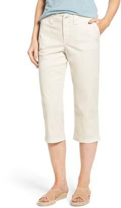 NYDJ Stretch Cotton Crop Pants (Petite)