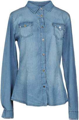 Peacock Blue Denim shirts - Item 42683444KA
