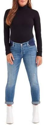 7 For All Mankind Josefina Straight-Leg Boyfriend Maternity Jeans