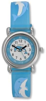 Citron KID018 Kids Blue Dolphin Time Teacher Watch