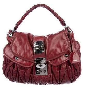 bc40a52cedf6 Miu Miu Matelassé Coffer Bag