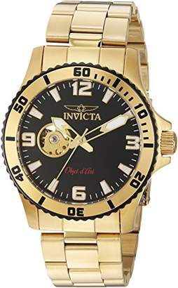 Invicta Men's 'Objet d'Art' Automatic Stainless Steel Casual Watch