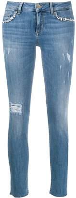 Liu Jo cropped skinny jeans