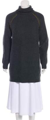 Tory Burch Turtleneck Rib Sweater