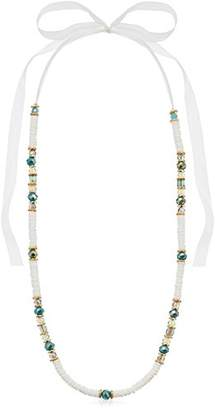 """lonna & lilly Gold-Tone and 35"""" Adjustable Shell Strand Necklace"""