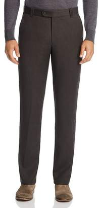 Bloomingdale's The Men's Store at Twill Tailored Fit Dress Pants - 100% Exclusive