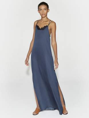Halston Applique Maxi