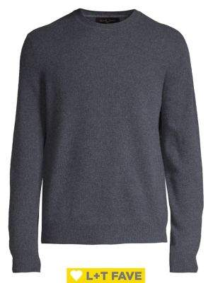 Black & Brown Black Brown Cashmere Crewneck Sweater